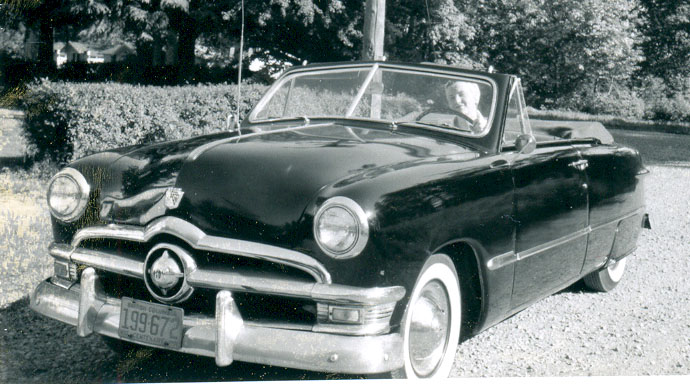50 Ford convertible